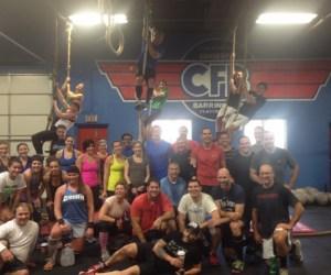 CrossFit Barrington - Photographed by Julie Linnekin