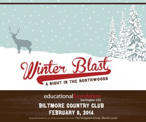 Barrington 220 Educational Foundation Winter Blast 2014 Fundraiser
