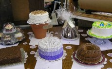 Live Auction Cake Sale at Norton's USA