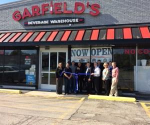 Post - Garfields Beverage Warehouse Ribbon Cutting