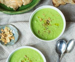 Post - Heinen's 4 PM Panic - Broccoli and Arugula Soup - Table and Dish - 2