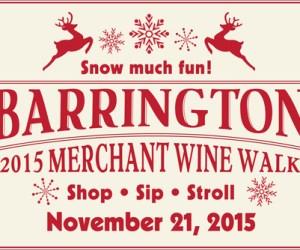 Snow Much Fun - Barrington Village Merchant Wine Walk