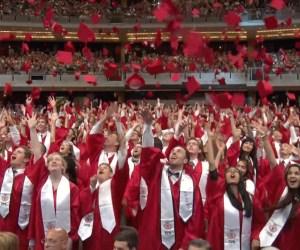 VIDEO: Barrington High School Celebrates Class of 2016 Graduation