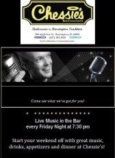 Live Music Friday Nights at Chessie's Restaurant @ Chessie's Restaurant |  |  |