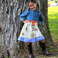 Easy sew dress for kids