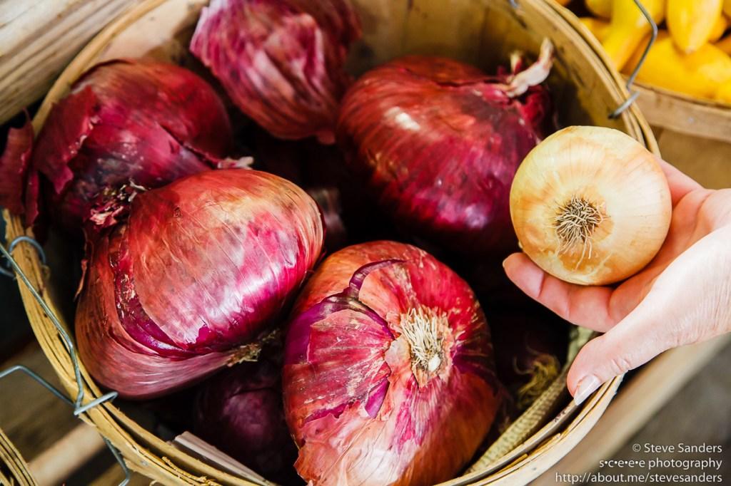 Huge onions