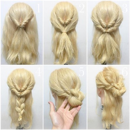 9 step-by-step Hairstyle Tutorials 06