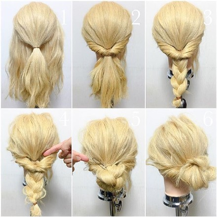 9 step-by-step Hairstyle Tutorials 05