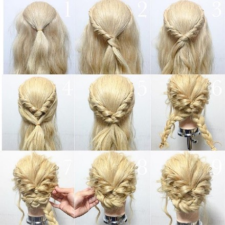 9 step-by-step Hairstyle Tutorials 04