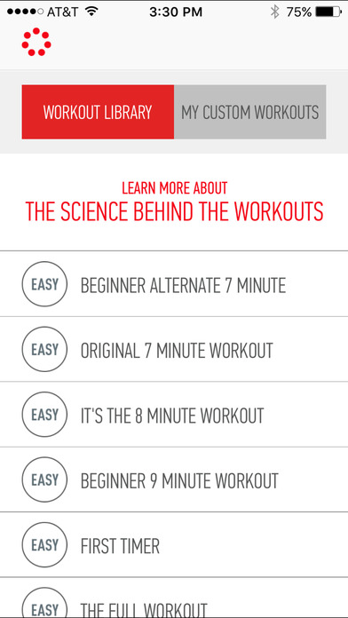 Johnson & Johnson Official 7 Minute Workout App
