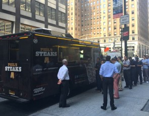 Phils Steaks Food Truck 365 Guide New York City NYC