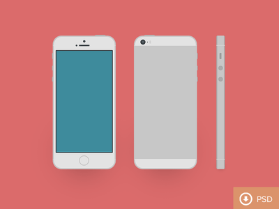 (PSD) iPhone 5s