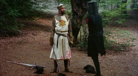 Still from Monty Python and the Holy Grail (1975)
