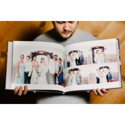 Small Crop Of Wedding Photo Book