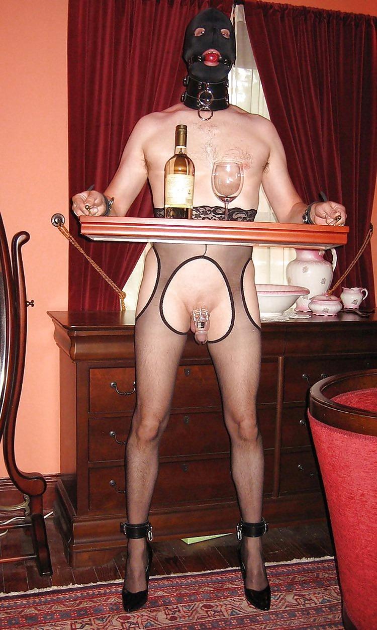 sissy maid bondage training