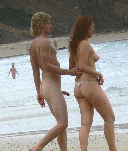 public beach erection