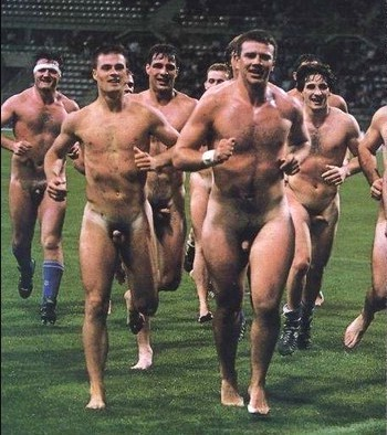 male sports outdoor nudity