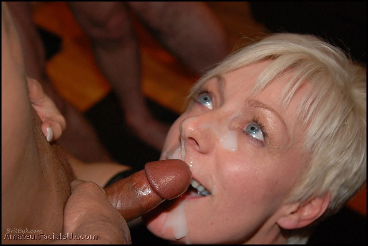 wife eating cum