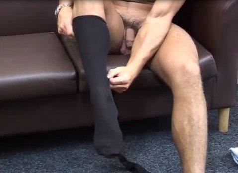 mature men dress sock fetish