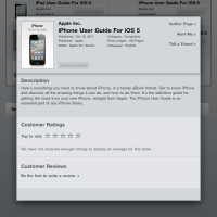 User Guide for iOS 5 are now available at iBookstore.