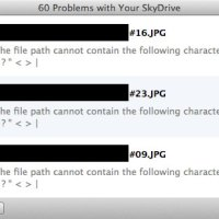 SkyDrive: File Naming Convention