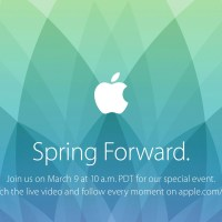"Save the Date: March 9, 2015 Apple Special Event ""Spring Forward"""