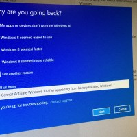 Going Back to Windows 8