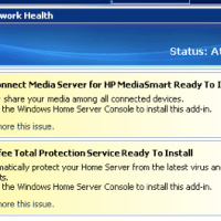 Windows Home Server: McAfee Total Protection Service