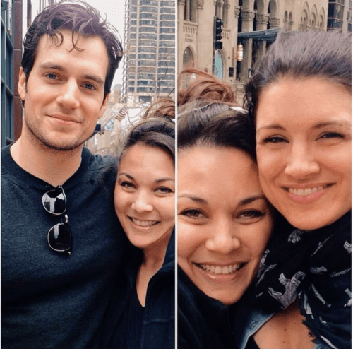 NEW/FLASHBACK PICS</p><br /><br /><br /><br /><br /><br /> <p>Oscar (ocsan IG) shared these new higher quality pictures of @tamsam1976 meeting Henry and Gina in Chicago this past Monday.  She shared her elusive with Henry Cavill Online.  Check it out here.