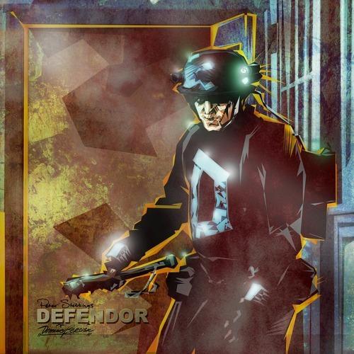 Promo artwork for Sony Picture's Defendor
