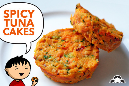 Paleo Spicy Tuna Fish Cakes