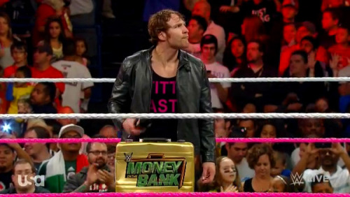 "Dean Ambrose supports the ""chicks"" (by @WrasslorMonkey)"