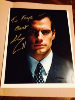 Exclusive:  A Lucky Fan Gets Swag From The Man From U.N.C.L.E.<br /><br /><br /><br /><br /><br /><br /><br /> Seriously, we need to know whoever Henry Cavill fan, @FayeLCamp (Twitter) knows. In December, she was one of the first fans to receive an autographed copy of Henry's new still from The Man From U.N.C.LE.<br /><br /><br /><br /><br /><br /><br /><br /> Now, just in time for Easter, Faye has received an U.N.C.L.E Barbour jacket and U.N.C.L.E. fleece The jacket and fleece are exactly what was worn by cast and crew of U.N.C.LE.<br /><br /><br /><br /><br /><br /><br /><br /> We are trying not to be jealous. But we don't know anyone who had an Easter basket with goodies like these. Congrats Faye!  Thank you for sharing these new pictures exclusively with Henry Cavill Online.