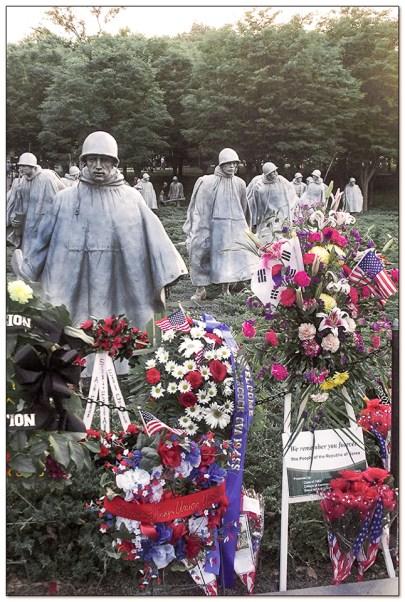 Korean War Memorial, Washington DC Mall