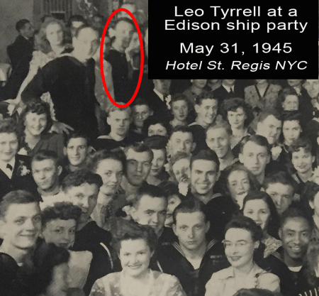 Edison SHip Party May 1945