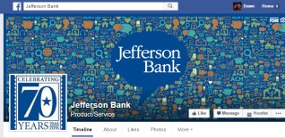 Visit the Jefferson Bank Facebook page, located in Houston Texas.