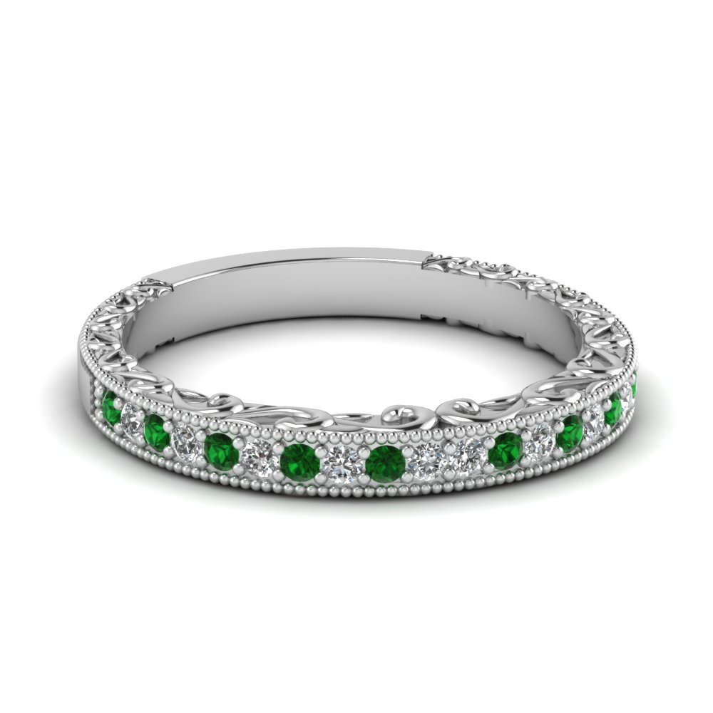 engagement rings emerald wedding rings 52 best images about Engagement Rings on Pinterest Engagement rings princess Band and Baguette