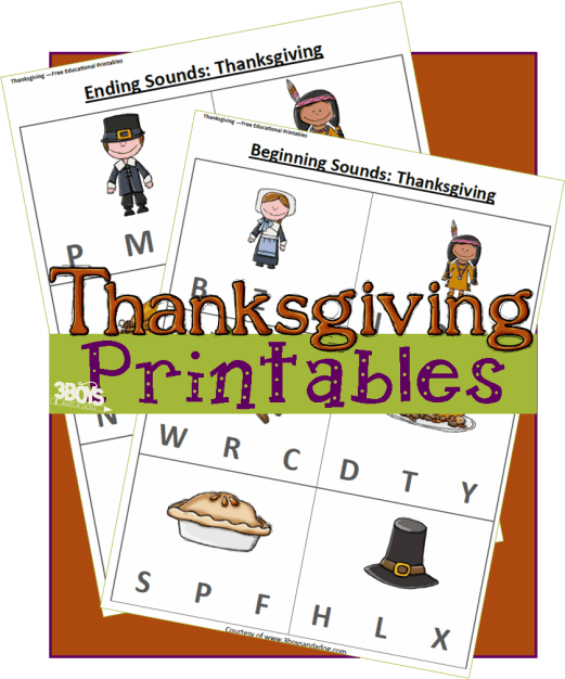 Early Reader Worksheets Thanksgiving Early Reader Worksheets