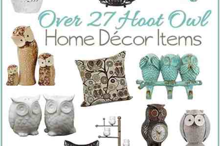 over 27 wise owl home decor accent pieces