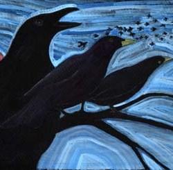 """Blackbirds 10"""" x 7"""""""