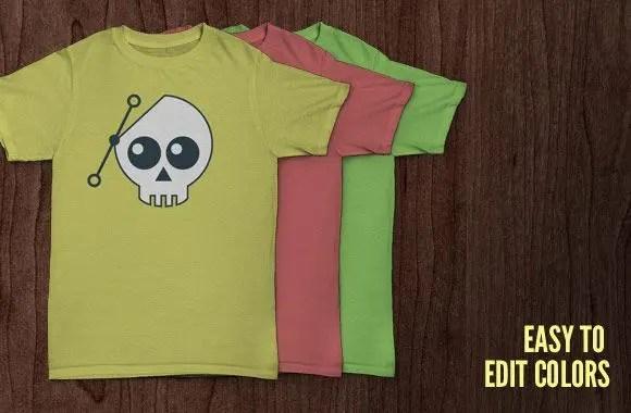 7 Mockups gratis de camisetas para ver tus diseños