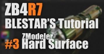 ZBrush4R7 新機能解説 #3 ZModeler Hard Surface - Pixologic公認インストラクター「BLESTAR」氏による4R7の新機能解説動画第3弾!