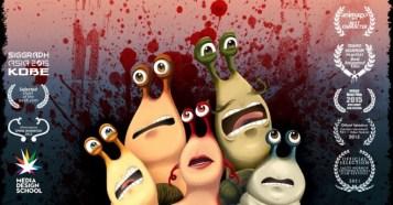 Escargore - 悲惨な最後を遂げるかたつむりを描いた学生作ホラーコメディショートフィルム!※ちょっと残酷表現注意