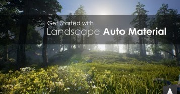 Get Started With LAM for UE4 - 地形に合わせて素材を自動反映するUE4の素敵アドオン使用映像!