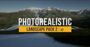 Photorealistic Landscapes Pack 2 - 地形作りが楽しくなる!アンリアルエンジン4用のフォトリアルな地形生成アセット新バージョン!