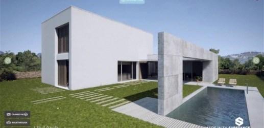 Substance in Architecture Showreel - Substance製品は建築系CGでも大活躍の新リール!