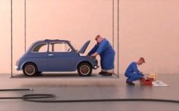 Voltige - 車と一緒に空中ブランコ!?MOPAの学生Léo Brunel氏制作ショートフィルム!