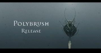 Polybrush 1.0 Release - イラスト感覚で3Dモデリング可能な新モデリングソフトウェア!正式リリース!