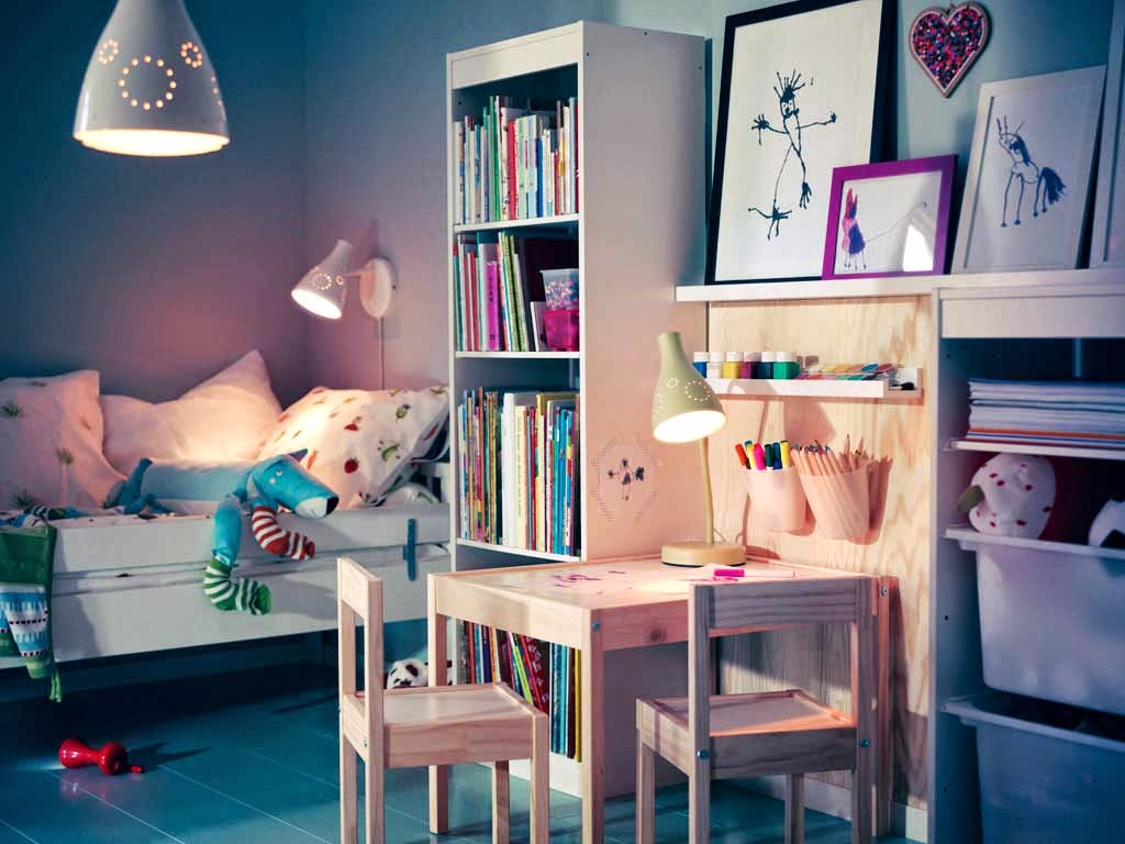 Focus On Night Lighting in kids room-architectural 3d walkthrough rendering