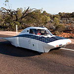 Solar car with 3D Printed Parts